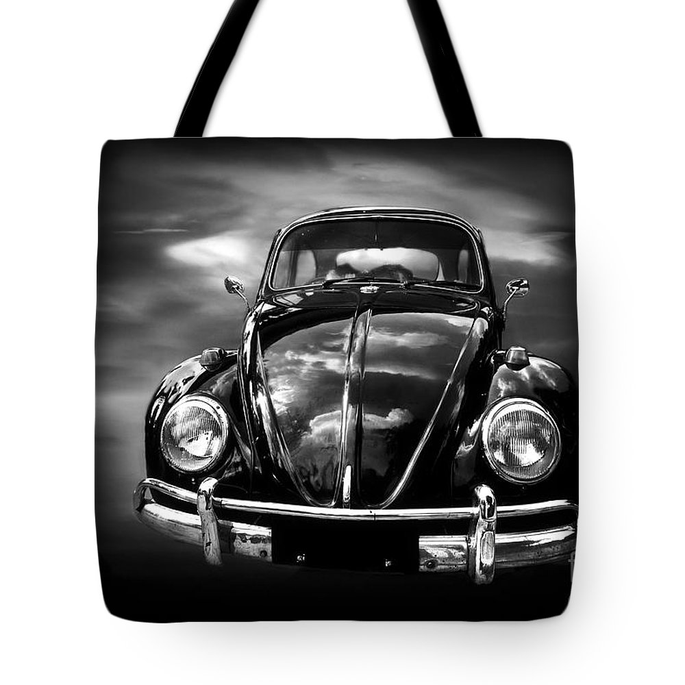 Volkswagen (vw) Tote Bag featuring the photograph Volkswagen by Charuhas Images