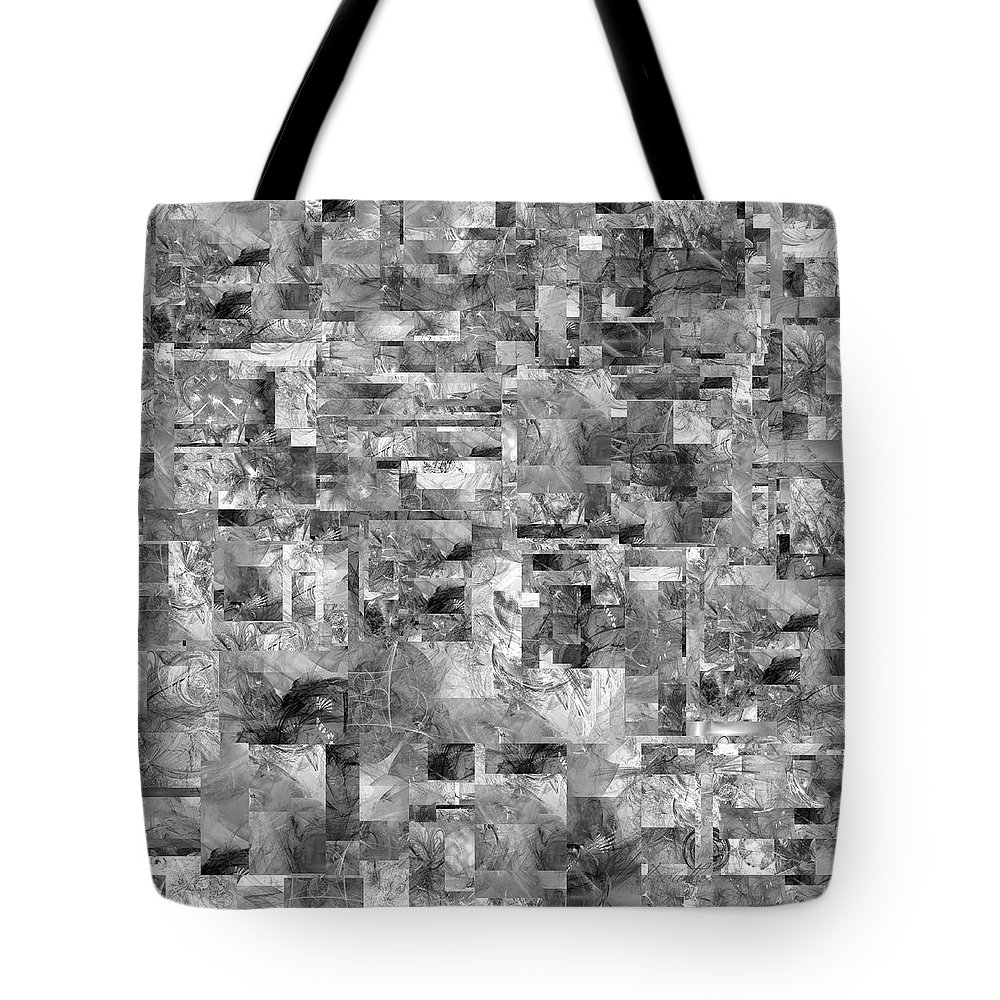Abstract Tote Bag featuring the digital art Volkswirtschaft by Betsy Knapp