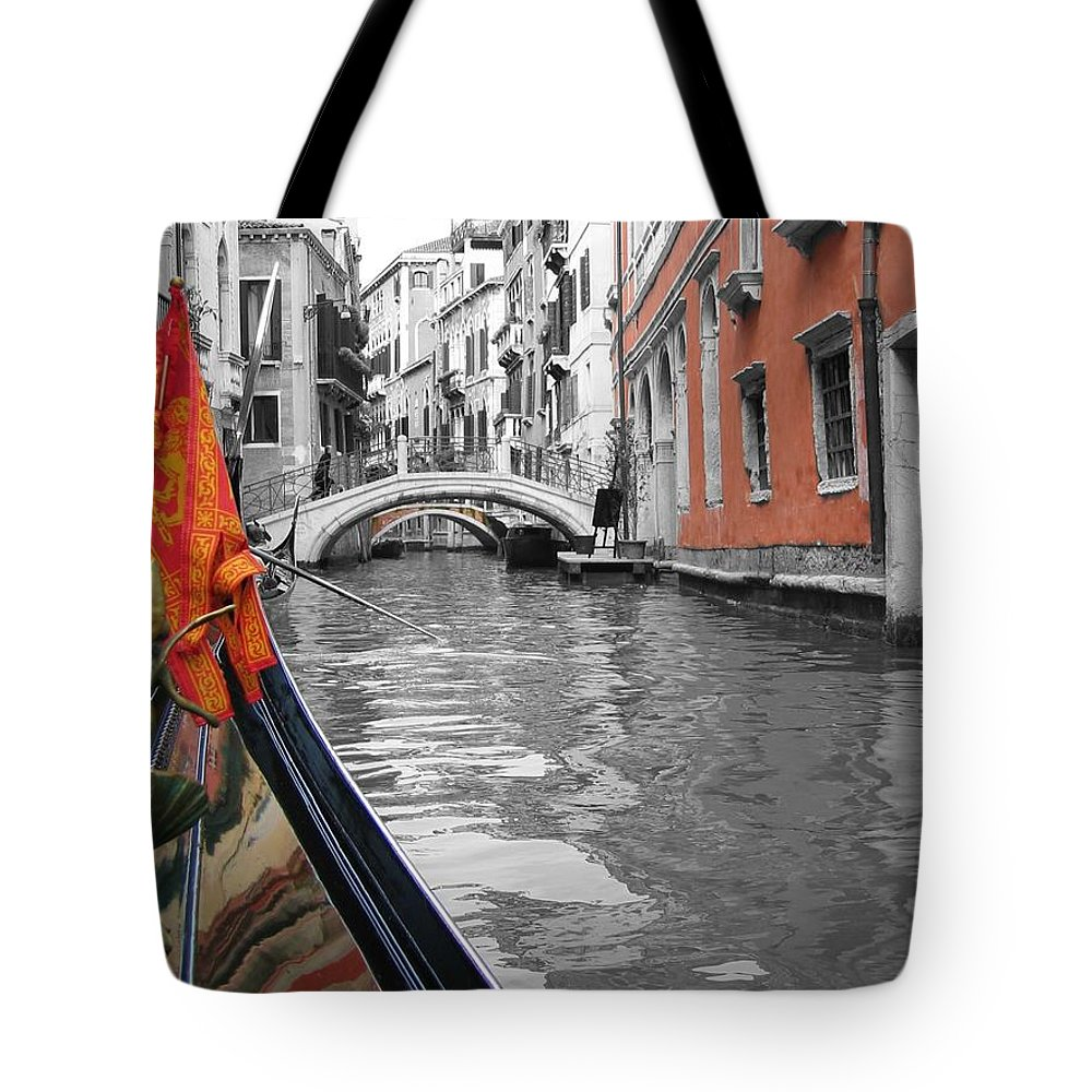 Cityscape Tote Bag featuring the photograph Voyage Of Venice by Dylan Punke