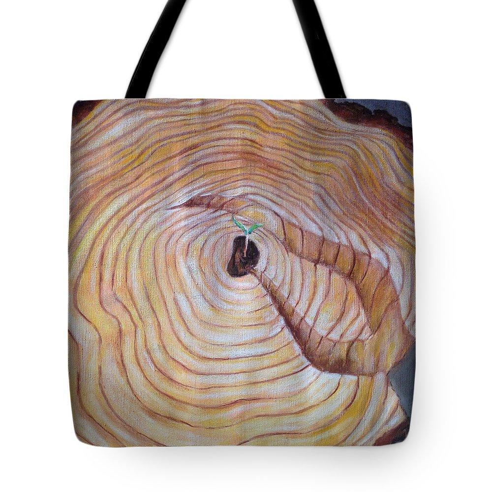 Landscape Tote Bag featuring the painting Vrstevnice by Pablo de Choros