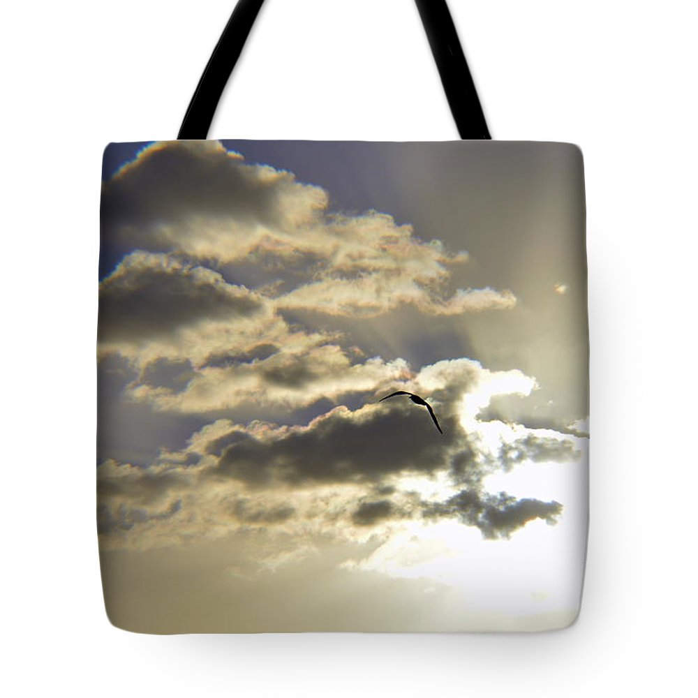 Tote Bag featuring the photograph Vuelo Al Sol by Lenin Caraballo