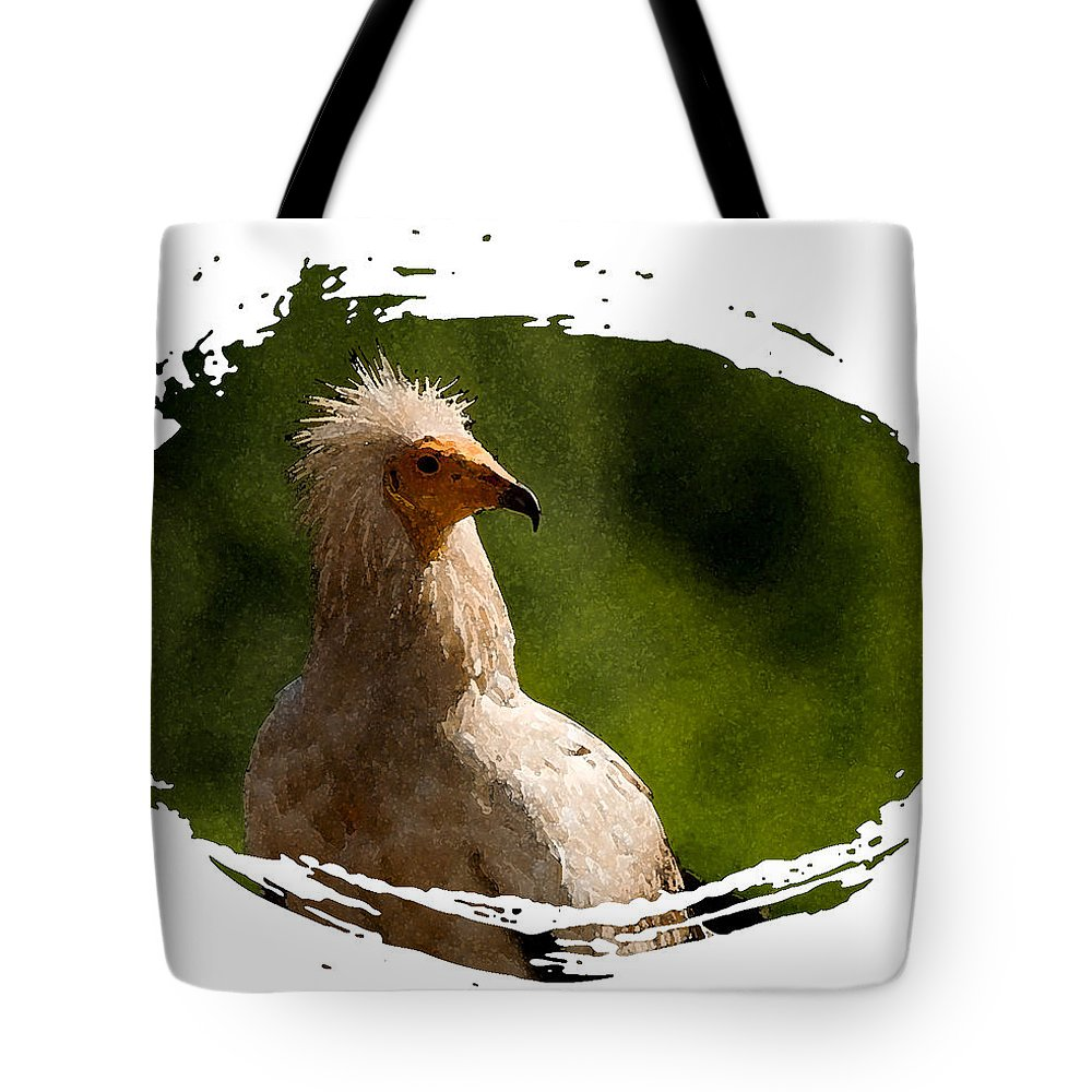 Vultures Tote Bag featuring the photograph Vulture by Cliff Norton