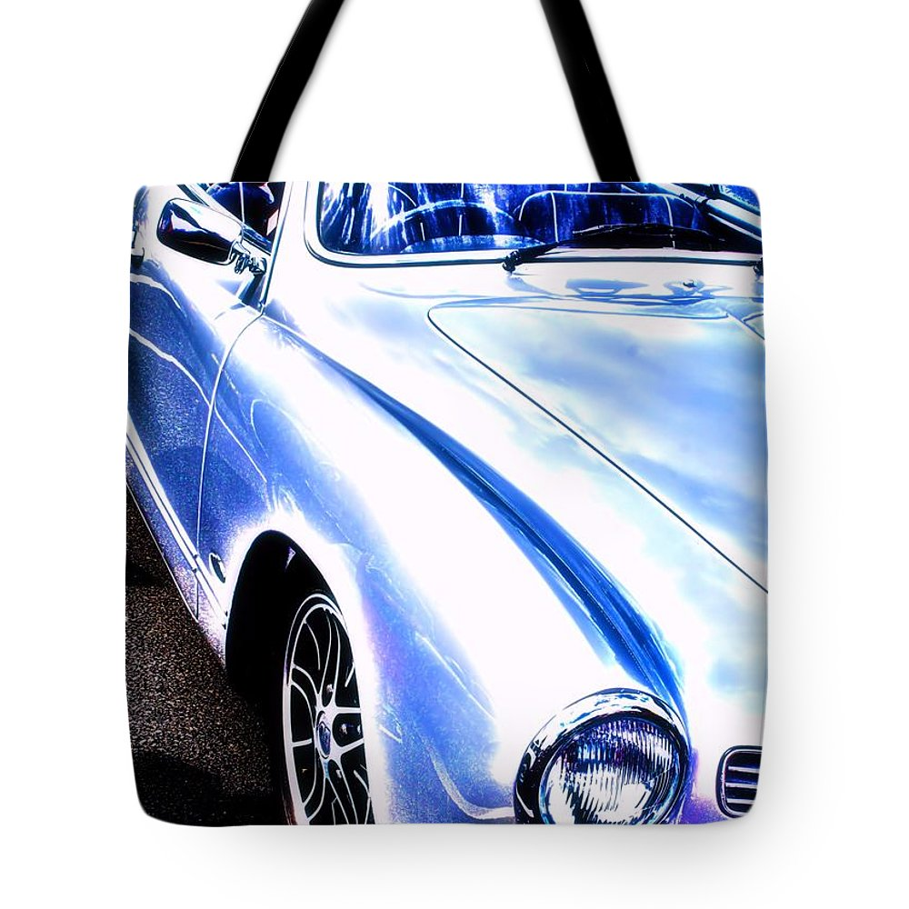 Vw Tote Bag featuring the photograph Vw Vintage Sports Car by Brian Raggatt