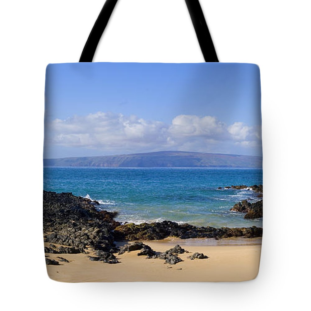 Afternoon Tote Bag featuring the photograph Wai Beach by Ron Dahlquist - Printscapes