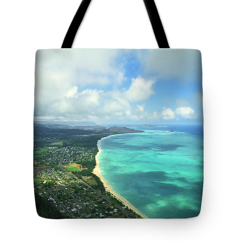 Waimanalo Tote Bag featuring the photograph Waimanalo Bay by Kevin Smith