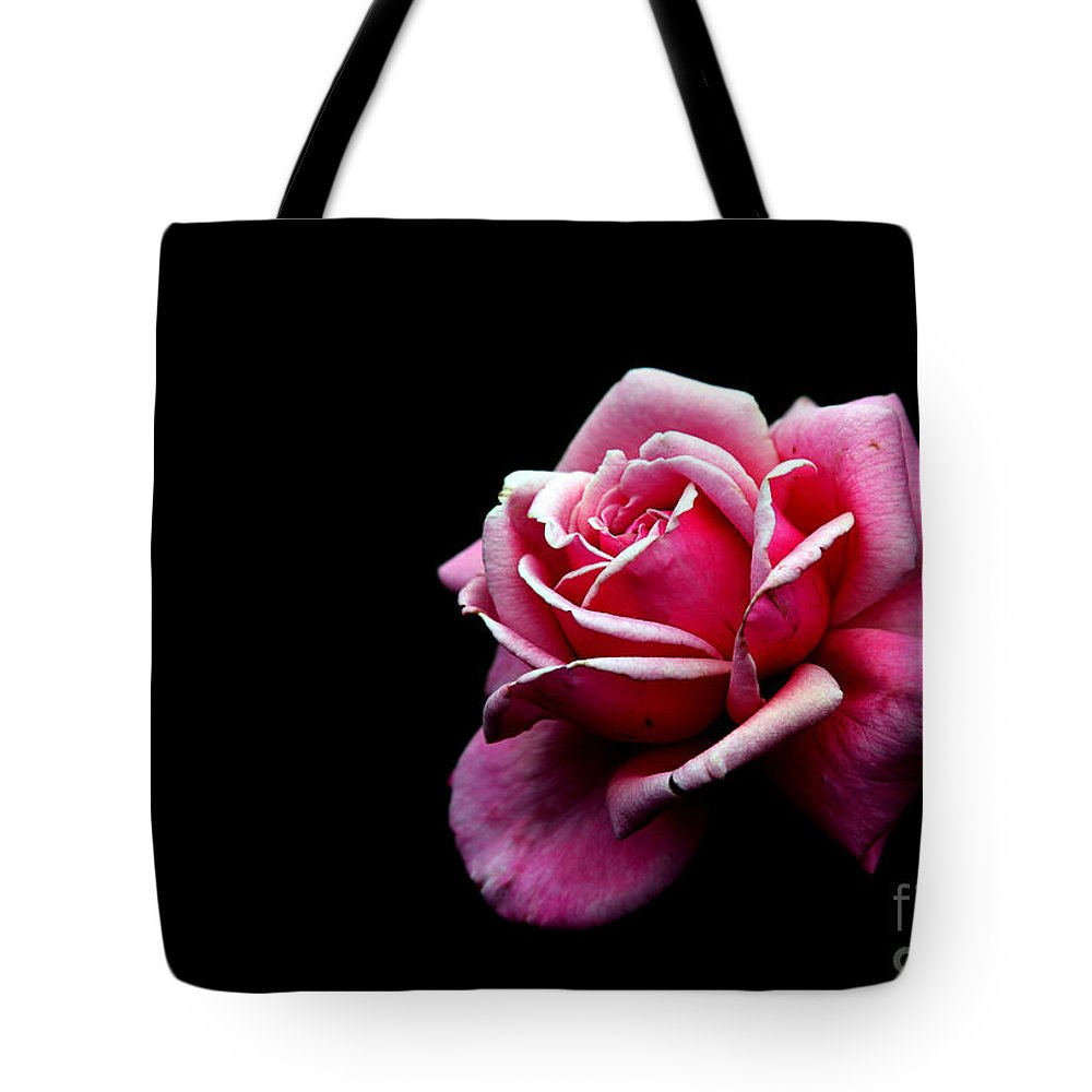 Rose Tote Bag featuring the photograph Waiting by Amanda Barcon