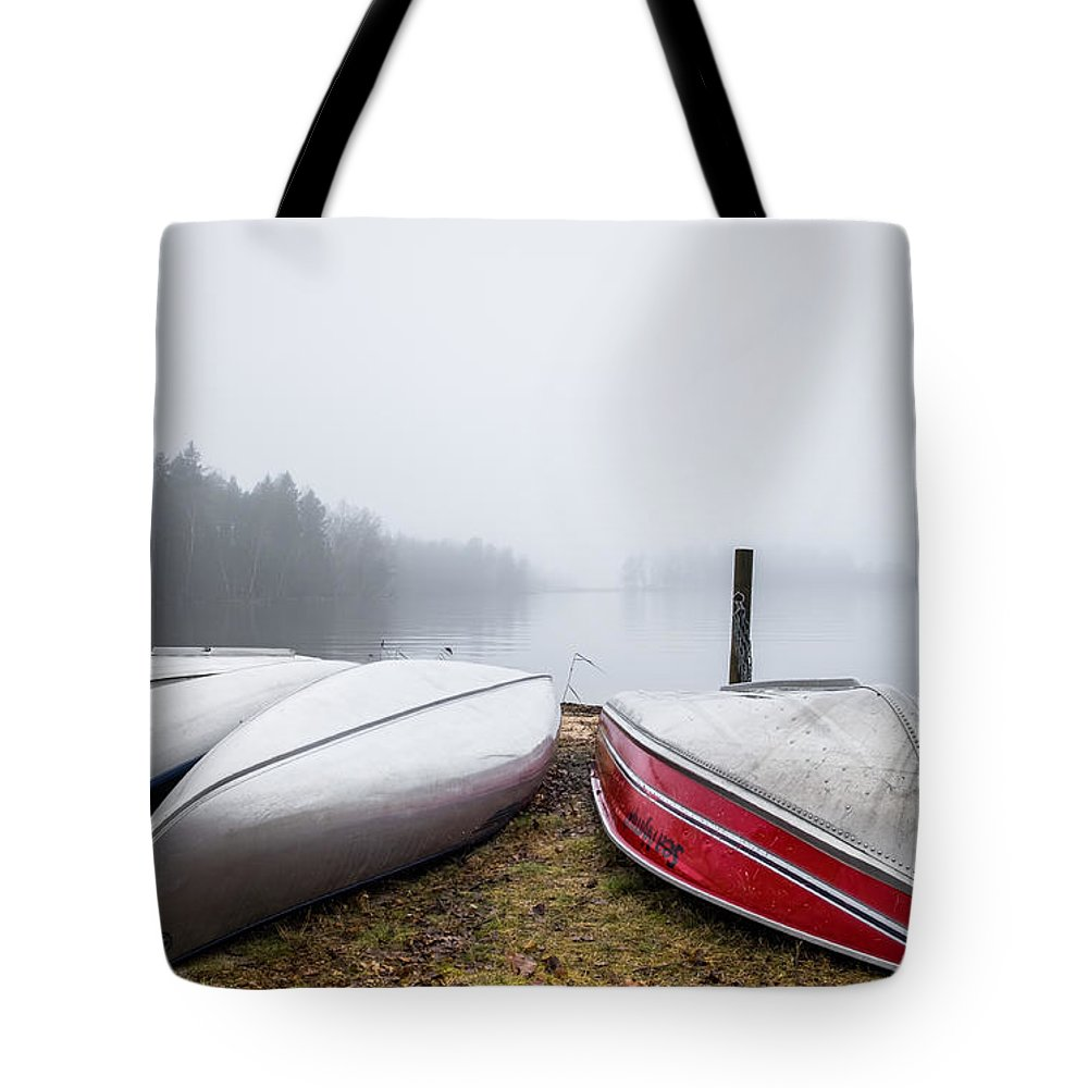 Beach Tote Bag featuring the photograph Waiting For The Right Season by Ludwig Riml