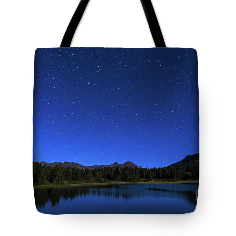 Colorado Tote Bag featuring the photograph Waiting On Meteors by Barbara Hayton