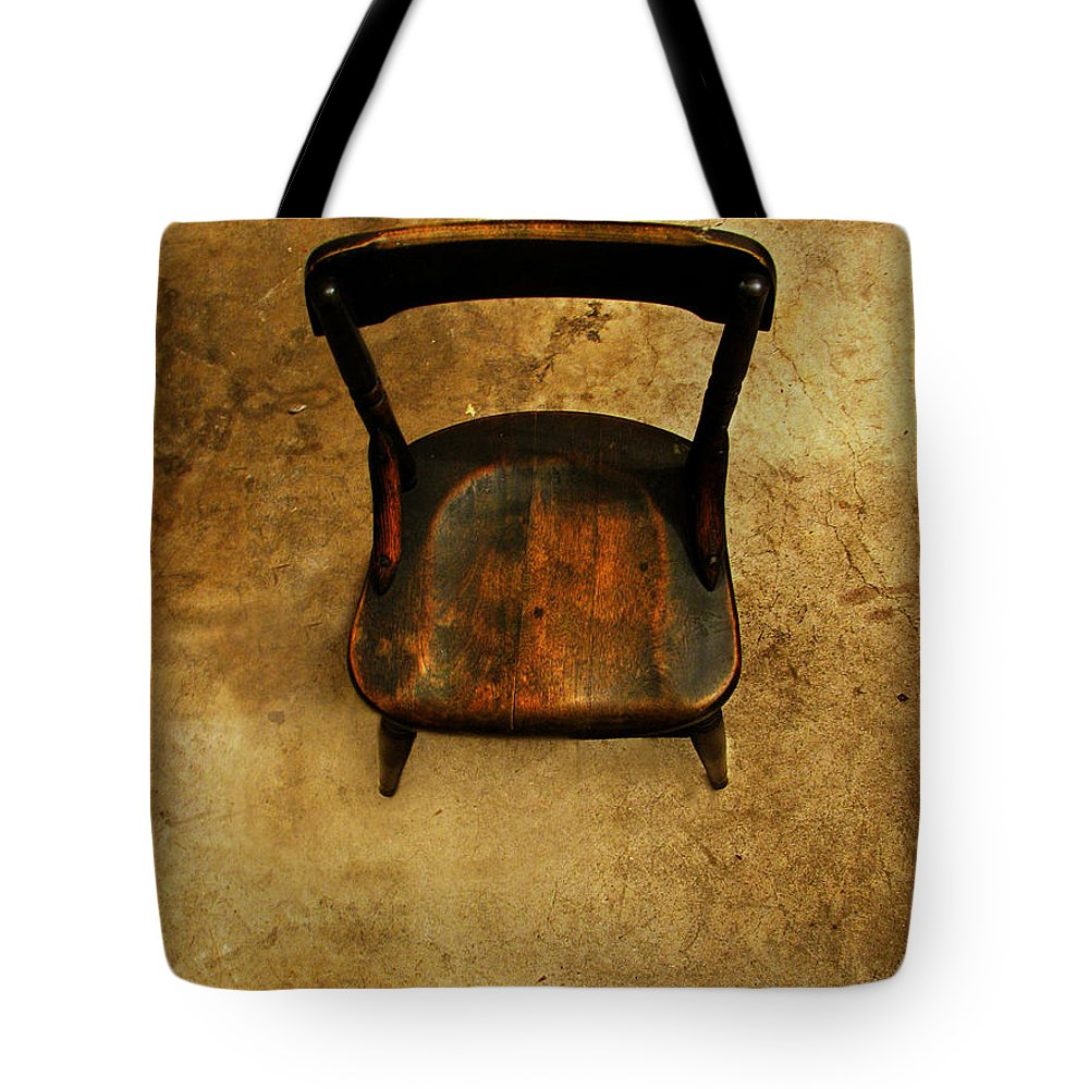 Alone Tote Bag featuring the photograph Waiting To Say Goodbye by Dana DiPasquale
