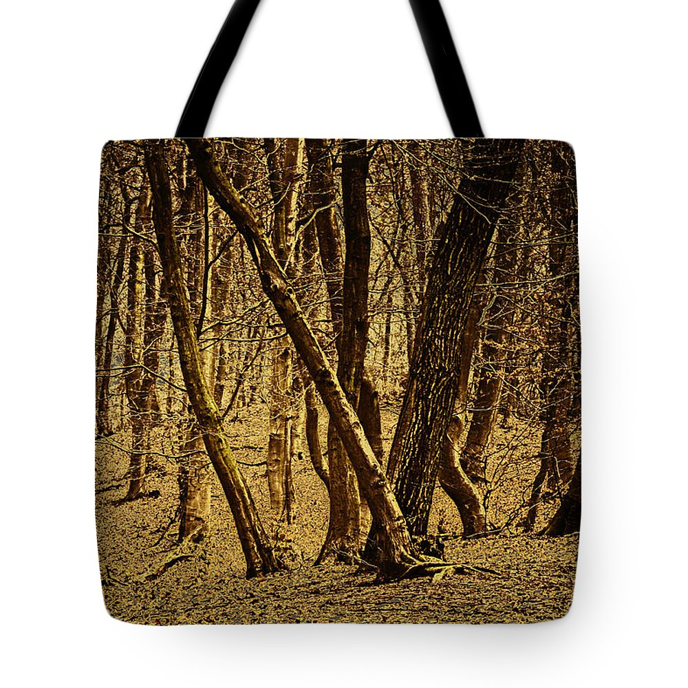 Tote Bag featuring the photograph Wald Forest by Uwe Rausch