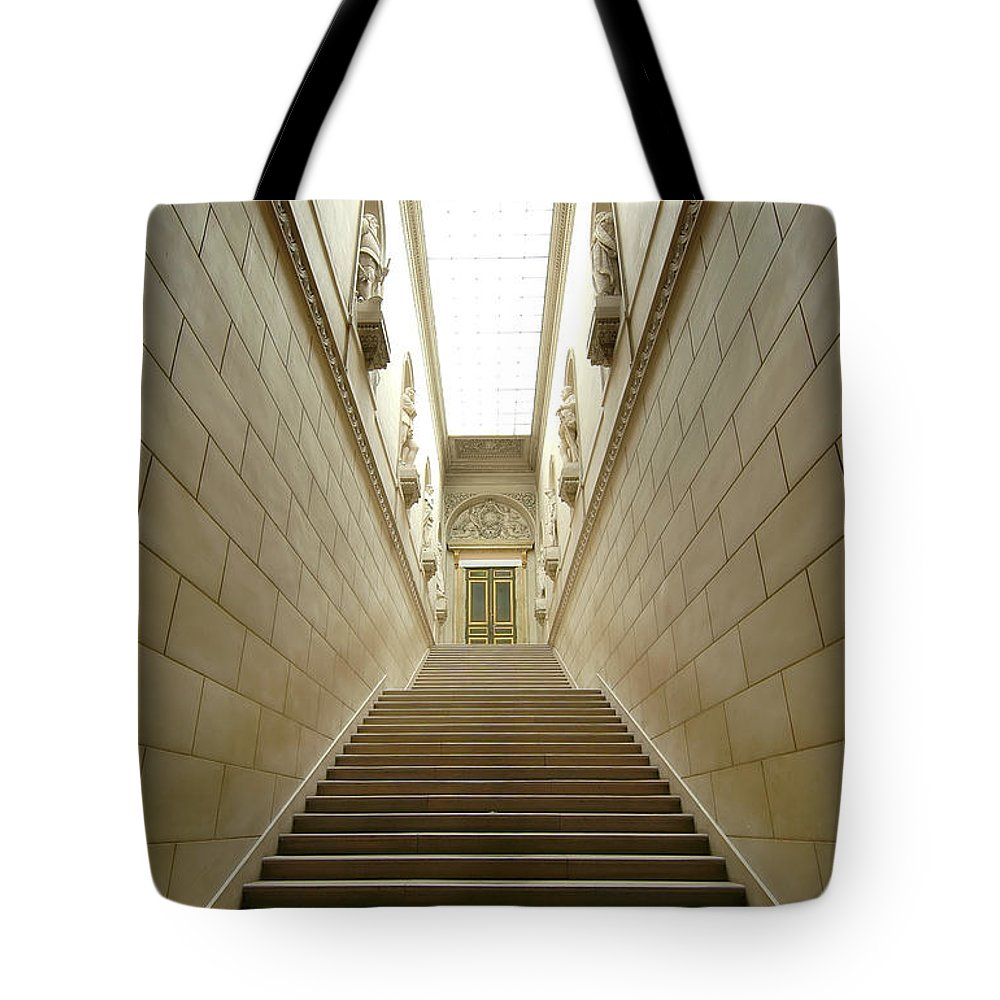 Versailles Tote Bag featuring the photograph Walk Of Kings And Worse by Robert Ponzoni