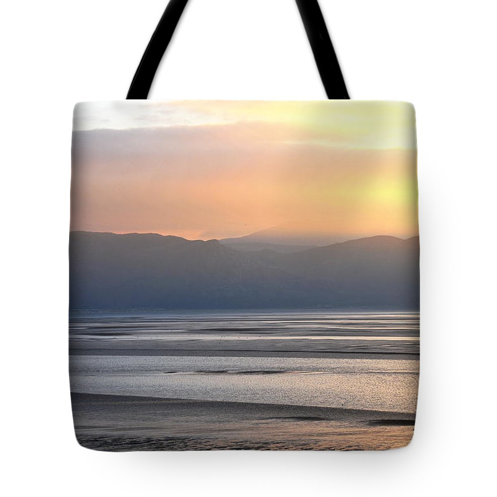 Wales Tote Bag featuring the photograph Walk On The Beach by Harry Robertson