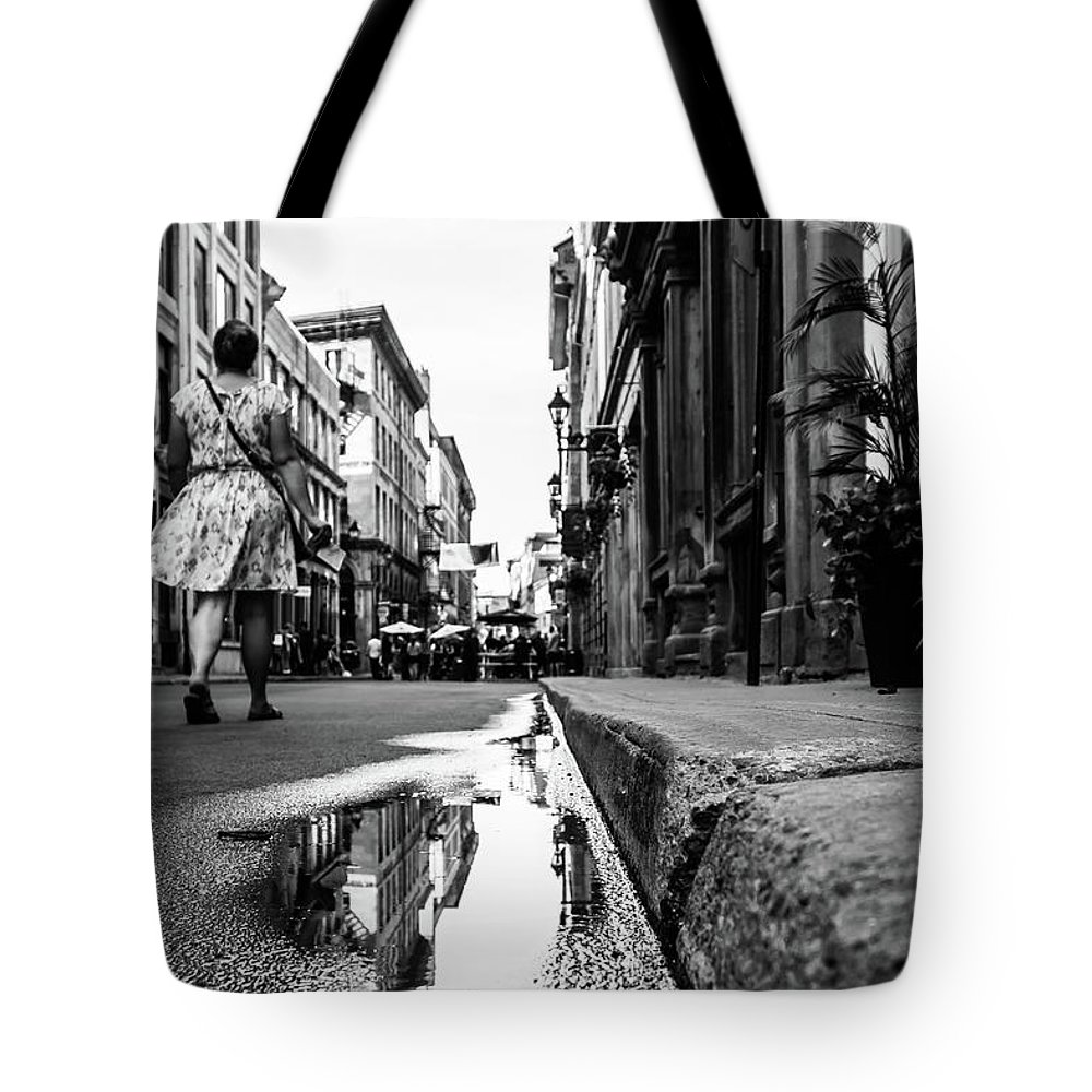Walk Tote Bag featuring the photograph Walk With Me by Brian James