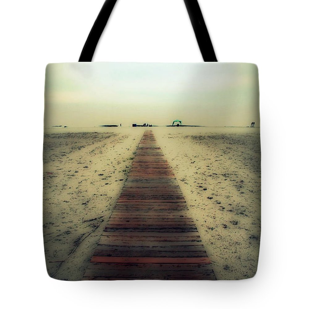 Nature Tote Bag featuring the photograph Walk With Me by Linda Sannuti