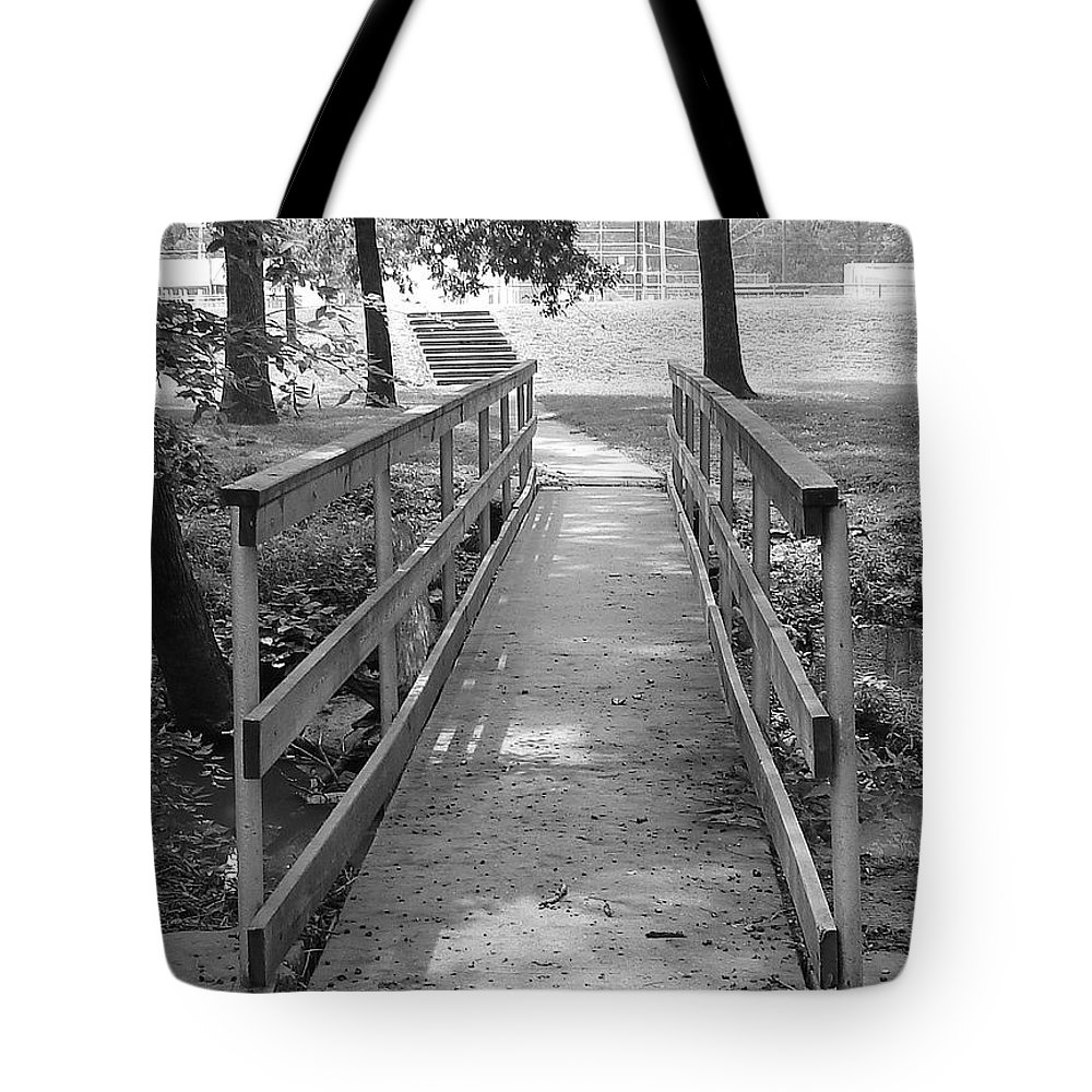 Tote Bag featuring the photograph Walk With Me by Luciana Seymour