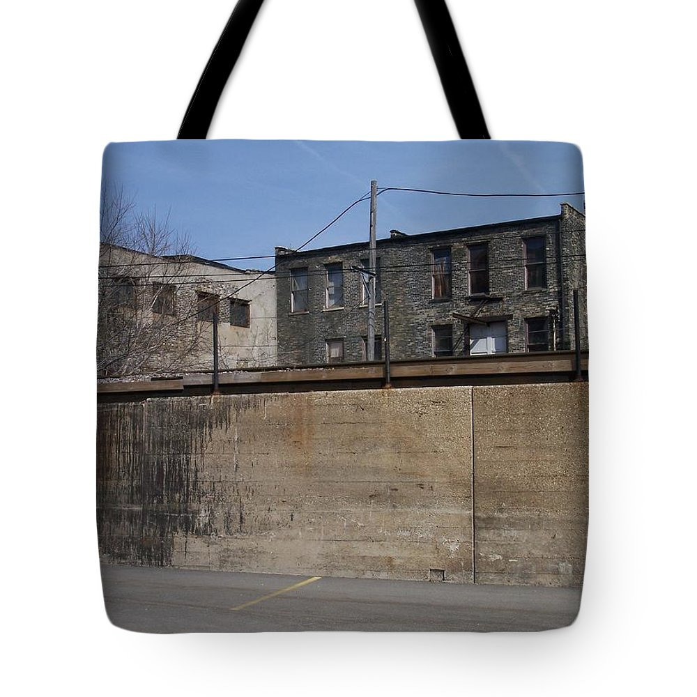 Walker's Point Tote Bag featuring the photograph Walker's Point 1 by Anita Burgermeister
