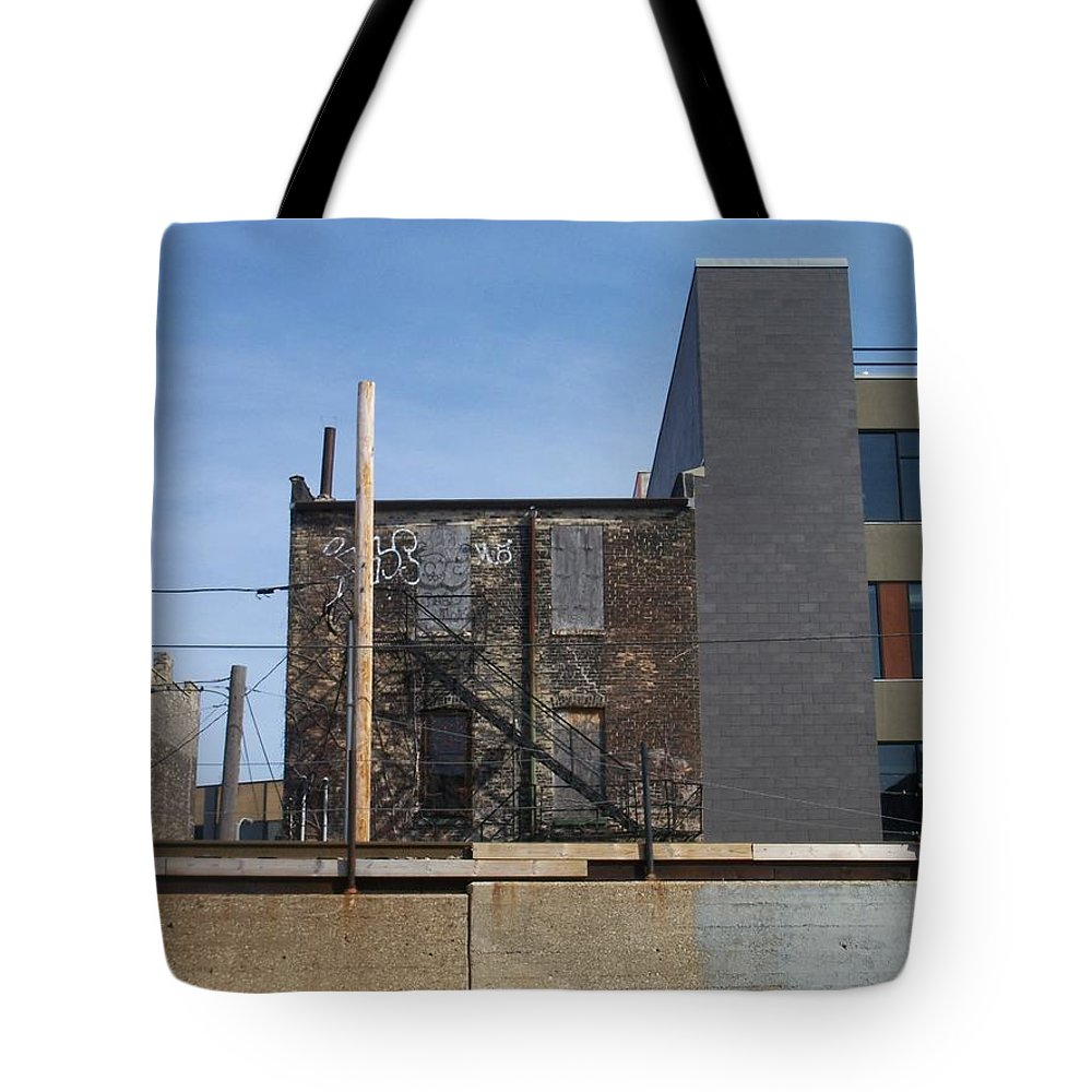 Walker's Point Tote Bag featuring the photograph Walker's Point 2 by Anita Burgermeister