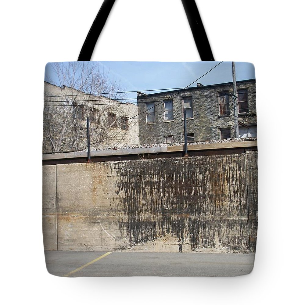 Walker's Point Tote Bag featuring the photograph Walker's Point 3 by Anita Burgermeister