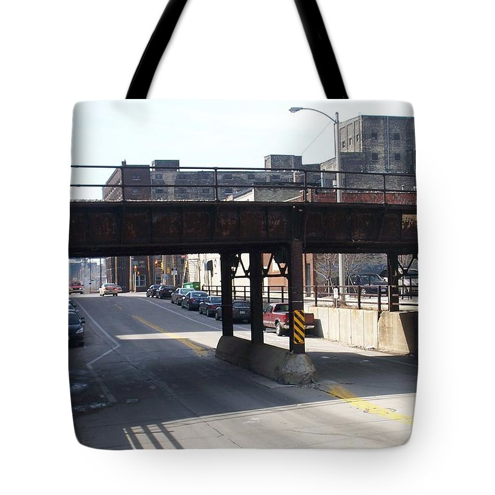 Walker's Point Tote Bag featuring the photograph Walker's Point 4 by Anita Burgermeister