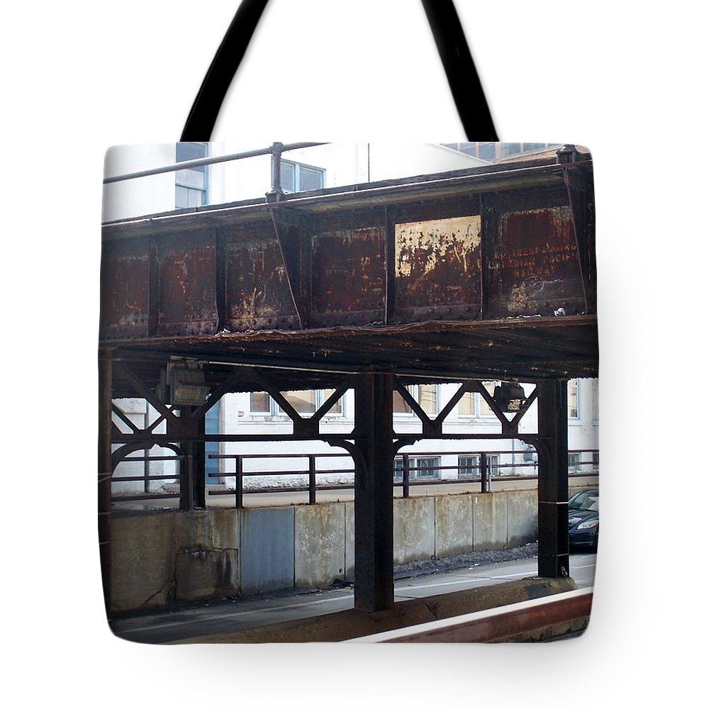 Walker's Point Tote Bag featuring the photograph Walker's Point 5 by Anita Burgermeister