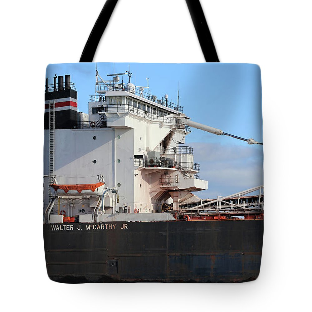 Walter J. Mccarthy Jr. Tote Bag featuring the photograph Walter J. Mccarthy Jr. Detail 112917 by Mary Bedy