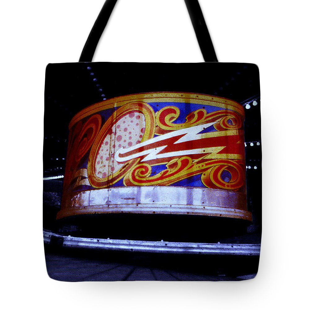 Waltzer Tote Bag featuring the photograph Waltzer by Charles Stuart