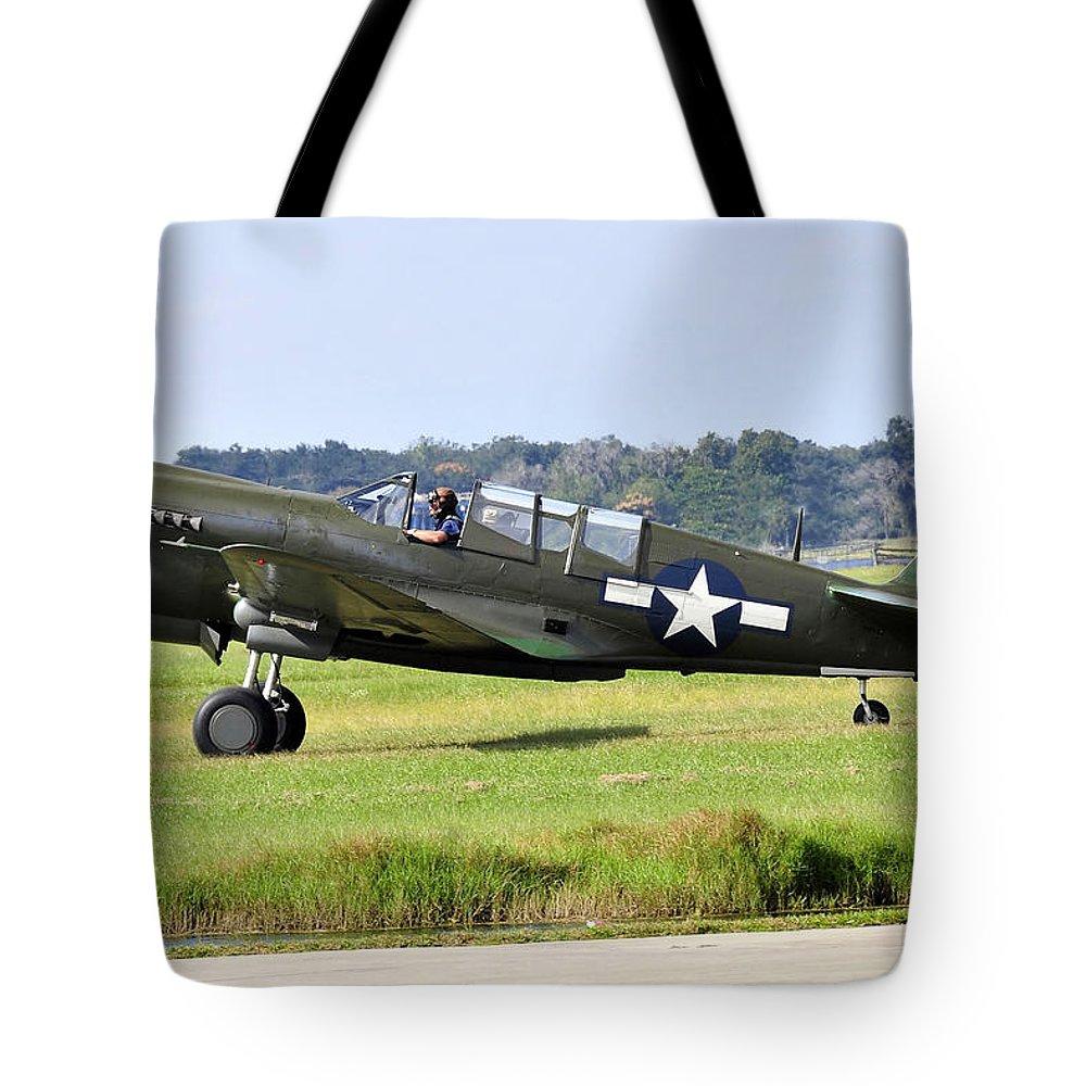 War Bird Tote Bag featuring the photograph War Bird by David Lee Thompson