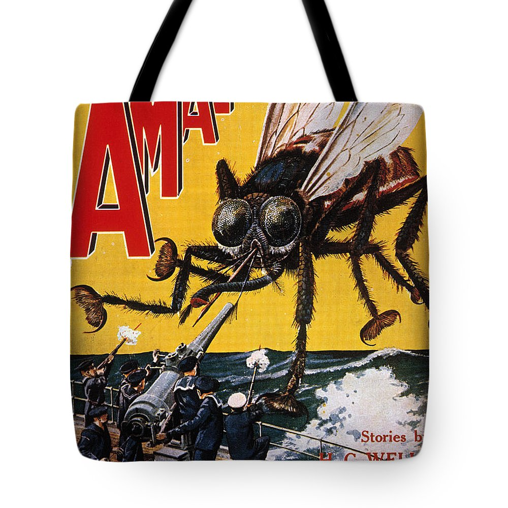 1927 Tote Bag featuring the photograph War Of The Worlds, 1927 by Granger