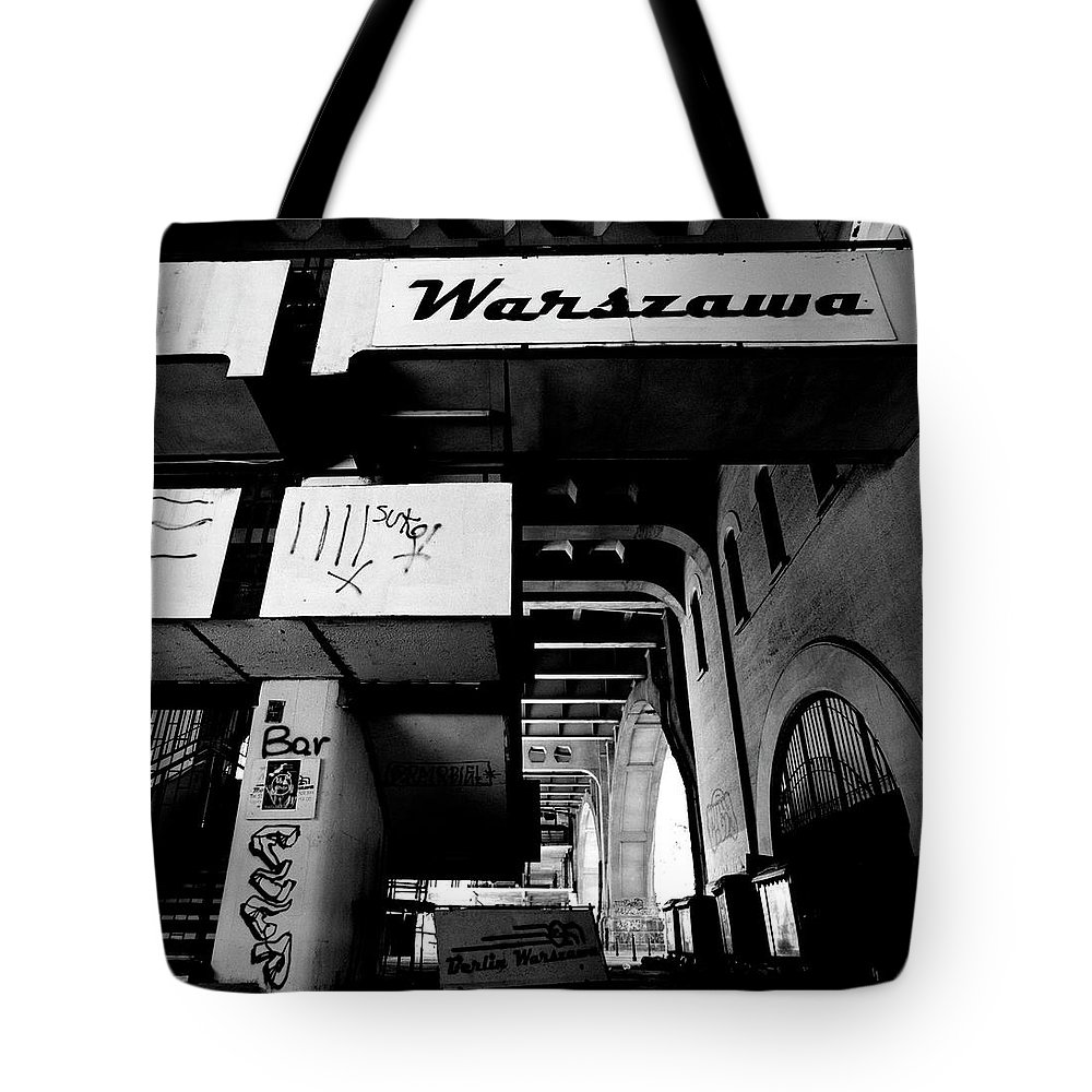 Berlin Tote Bag featuring the photograph Warsaw To Berlin Frame 2 by Derek Moore