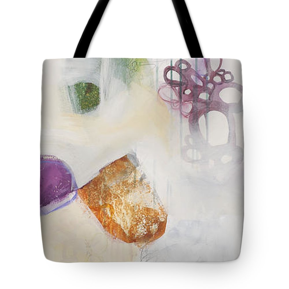 Painting Tote Bag featuring the painting Washed Up # 5 by Jane Davies