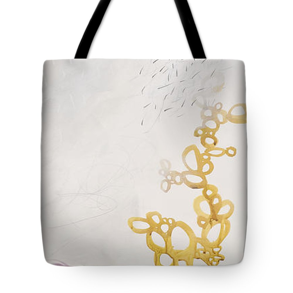 Painting Tote Bag featuring the painting Washed Up # 6 by Jane Davies