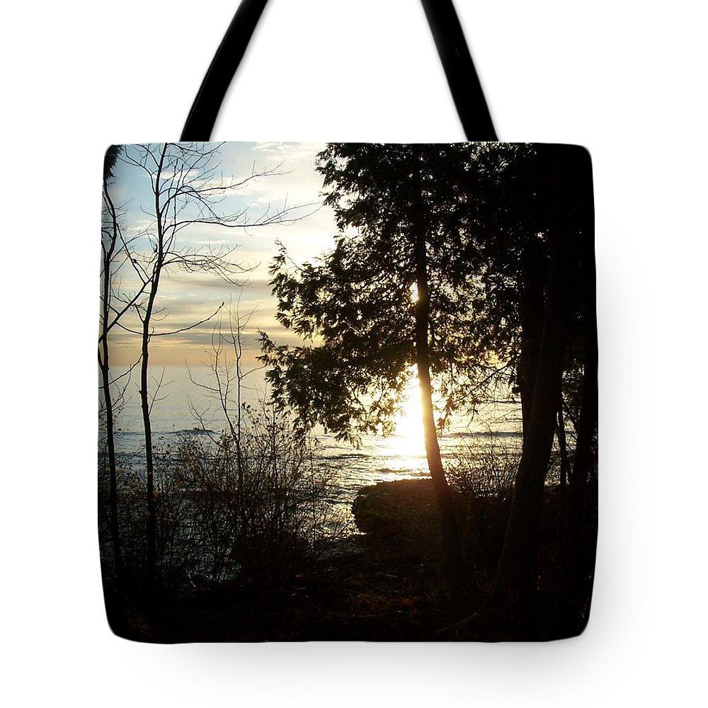 Washington Island Tote Bag featuring the photograph Washington Island Morning 2 by Anita Burgermeister