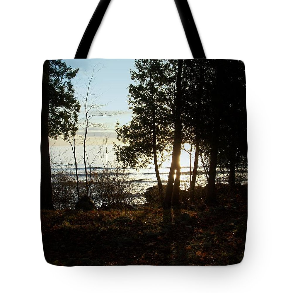 Washington Island Tote Bag featuring the photograph Washington Island Morning 3 by Anita Burgermeister