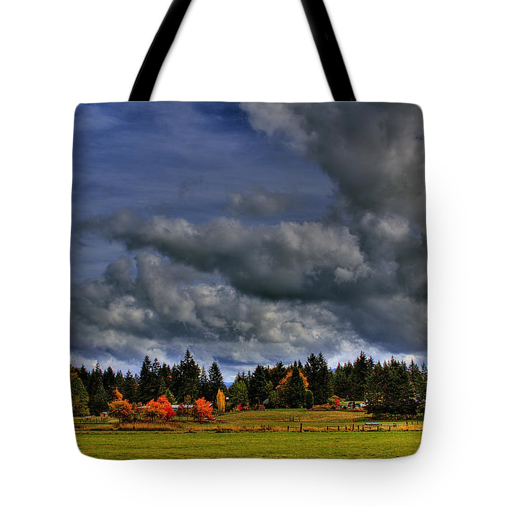 Photo Tote Bag featuring the photograph Washington Landscape by David Patterson