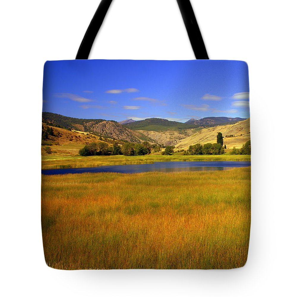 Landscape Tote Bag featuring the photograph Washington Landscape by Marty Koch