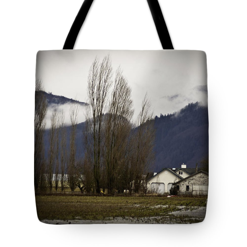 Art Tote Bag featuring the photograph Washington Winter Day by Clayton Bruster