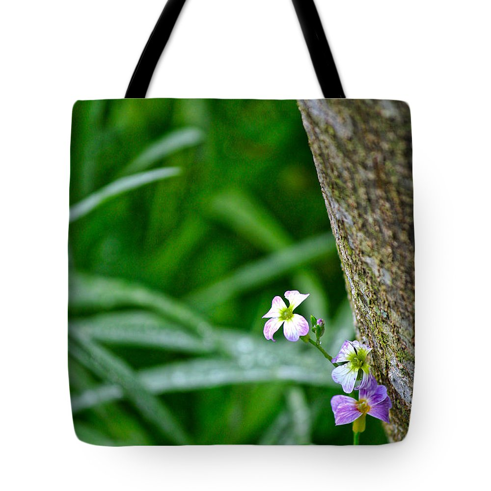 Wildflower Tote Bag featuring the photograph Watch For Fae Folk by Karin Everhart