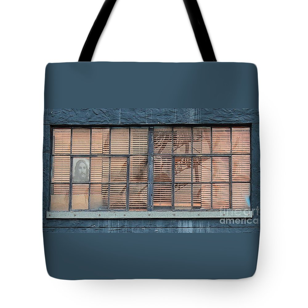 Jesus Christ Tote Bag featuring the photograph Watching And Waiting by Joe Jake Pratt