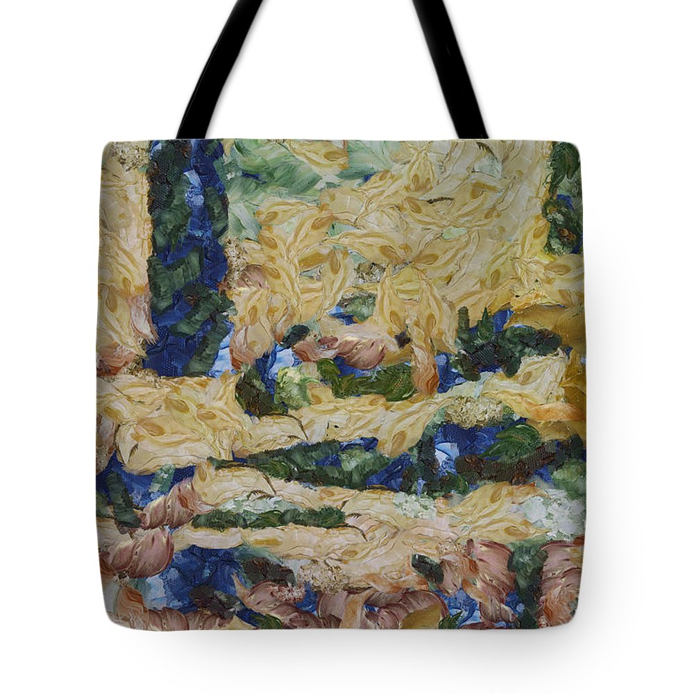 Water Tote Bag featuring the photograph Water And River Delta by Ashish Agarwal
