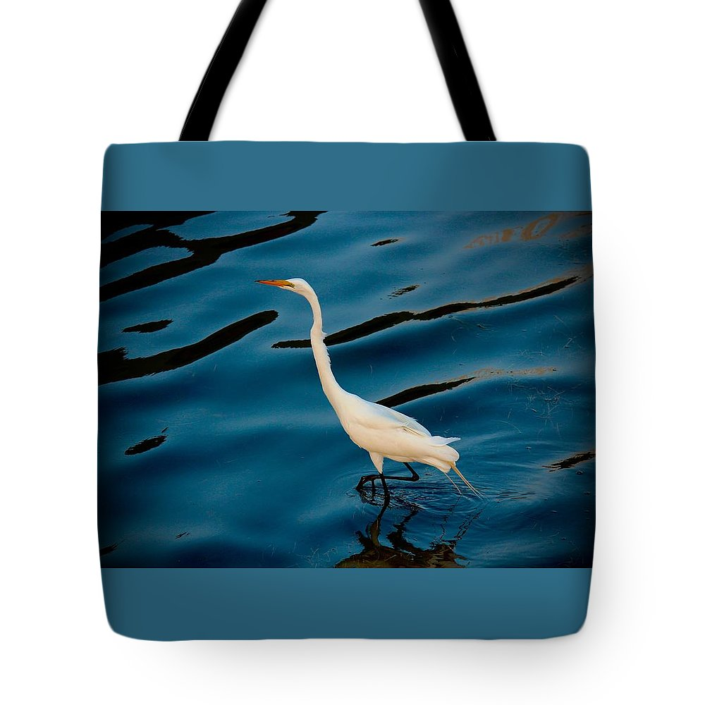 Water Bird Series Tote Bag featuring the photograph Water Bird Series 30 by Stephen Poffenberger