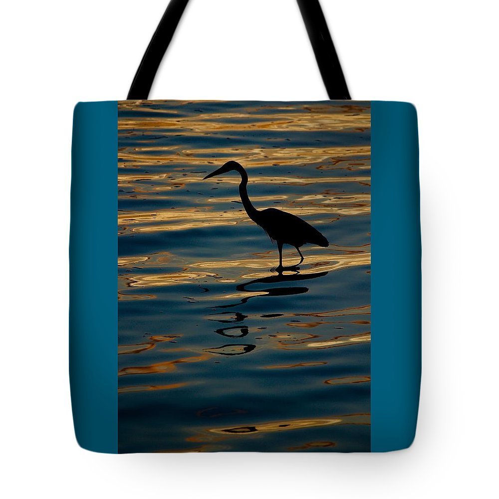 Water Bird Series Tote Bag featuring the photograph Water Bird Series 7 by Stephen Poffenberger