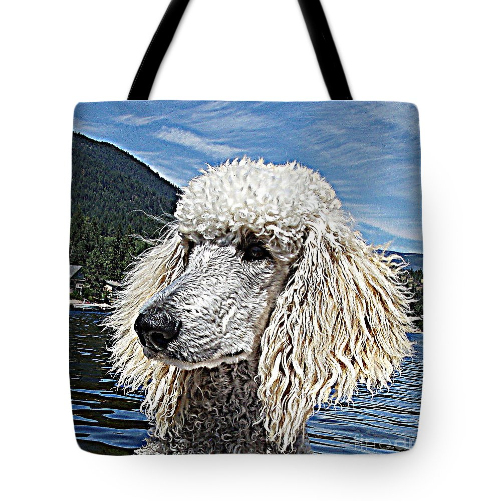 Standard Tote Bag featuring the photograph Water Dog by Joey Nash