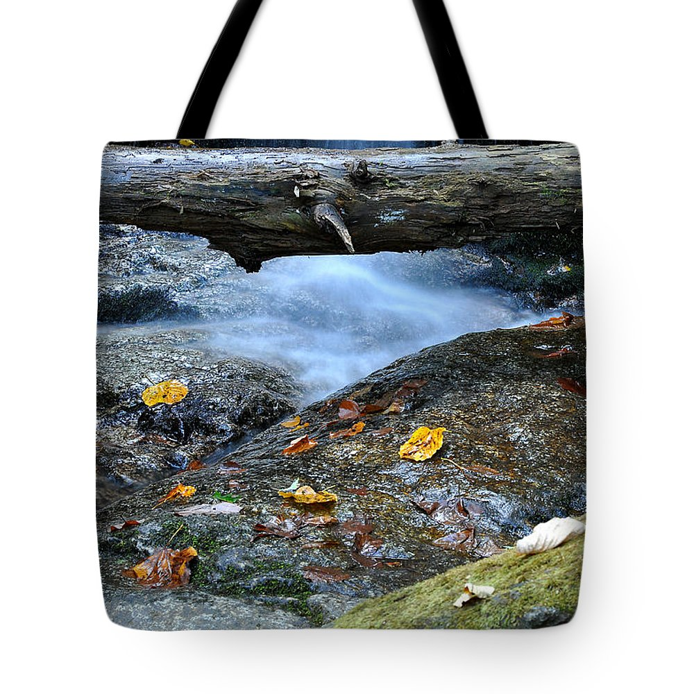 Water Falls Tote Bag featuring the photograph Water Falls by Todd Hostetter