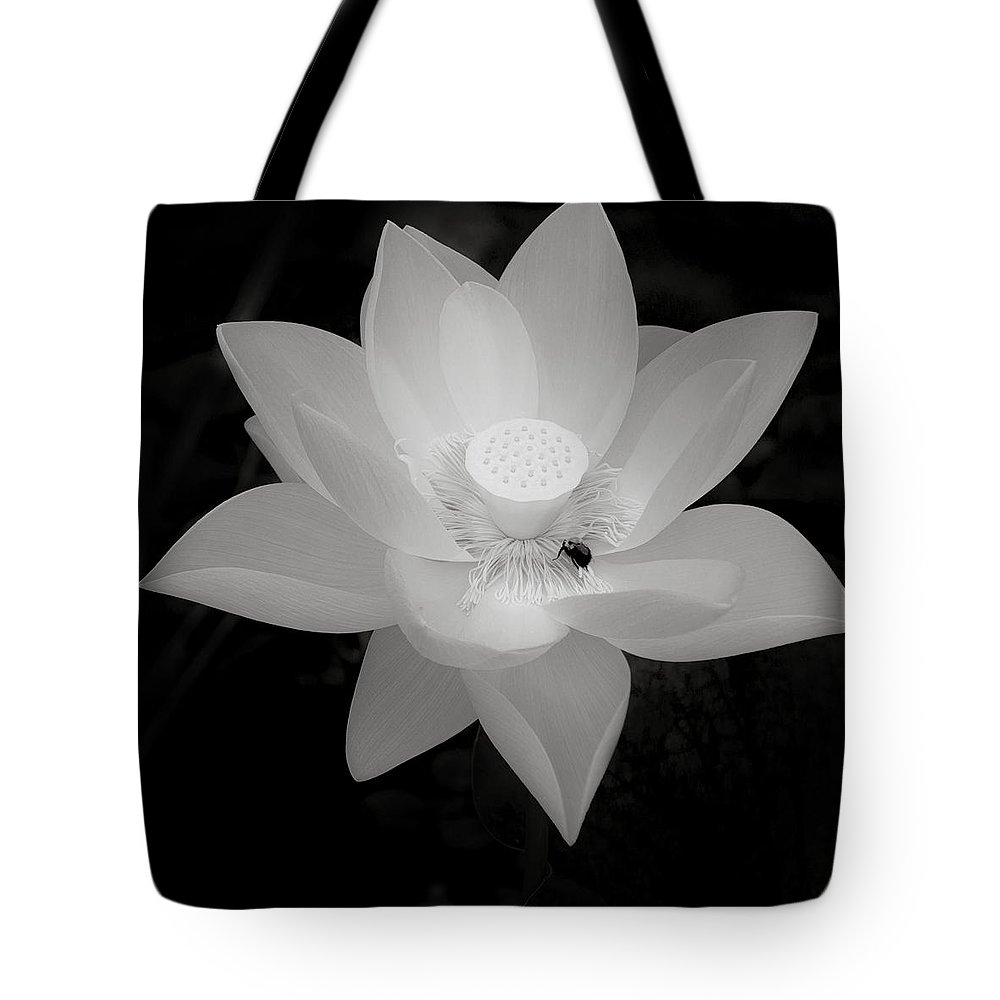 Water Lily Tote Bag featuring the photograph Water Lily by Laszlo Gyorsok