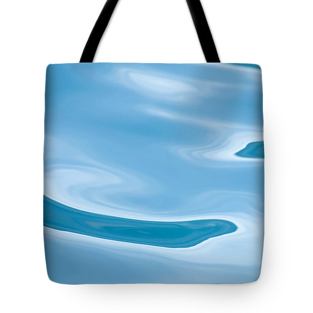 Water Tote Bag featuring the photograph Water by Mark Gartland