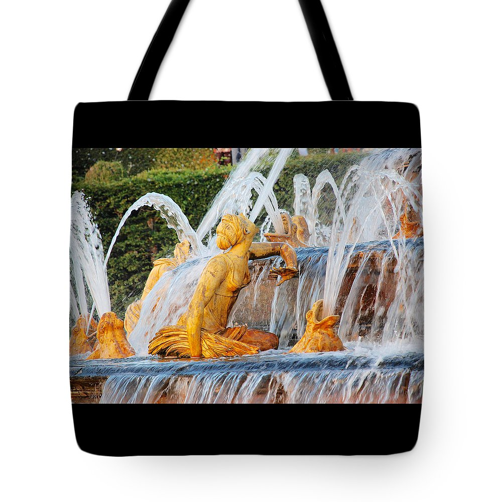 Latona Tote Bag featuring the photograph Water Nymph by Eliza Sans Souci McNally
