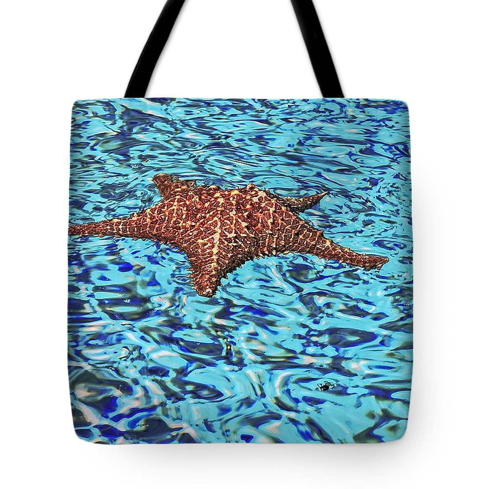 Abstract Tote Bag featuring the photograph Water Ripples by Eleni Mac Synodinos