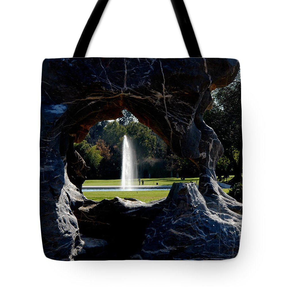 Clay Tote Bag featuring the photograph Water View by Clayton Bruster