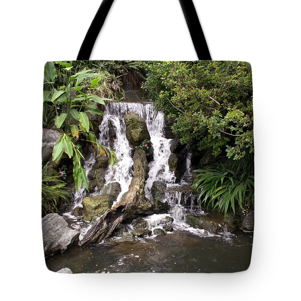 Water Tote Bag featuring the photograph Waterfall by Amy Fose