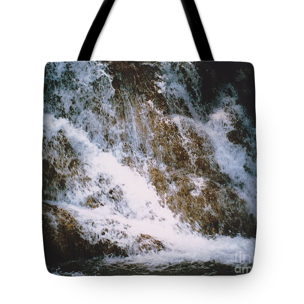 Water Tote Bag featuring the photograph Waterfall by Michelle Powell